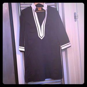 Tory Burch classic navy tunic dress
